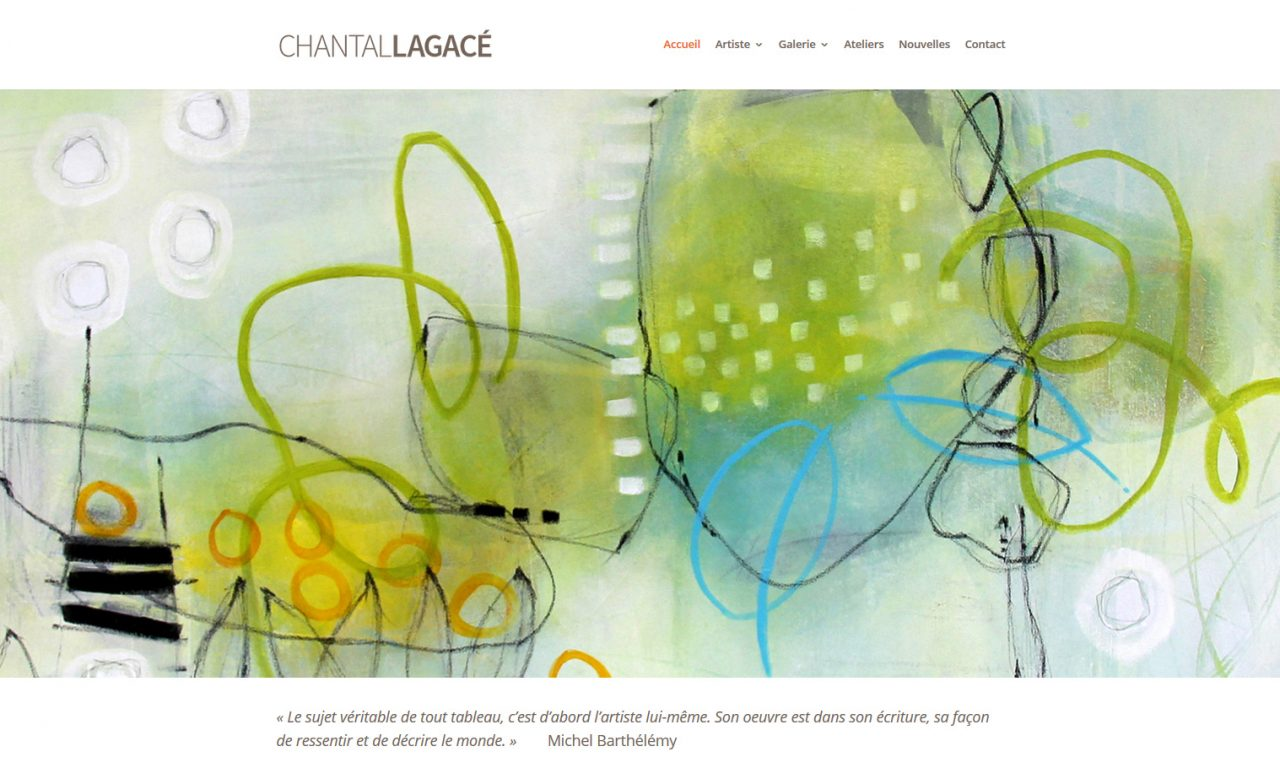 Chantal Lagacé – Artiste