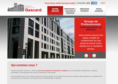 Groupe Immobilier Gescard