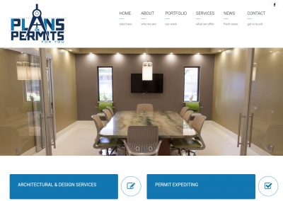 Plans and permits for you