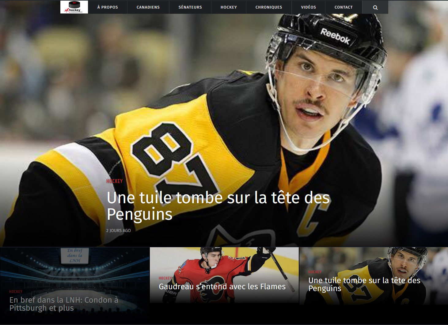 Hockey Communication - Blogue