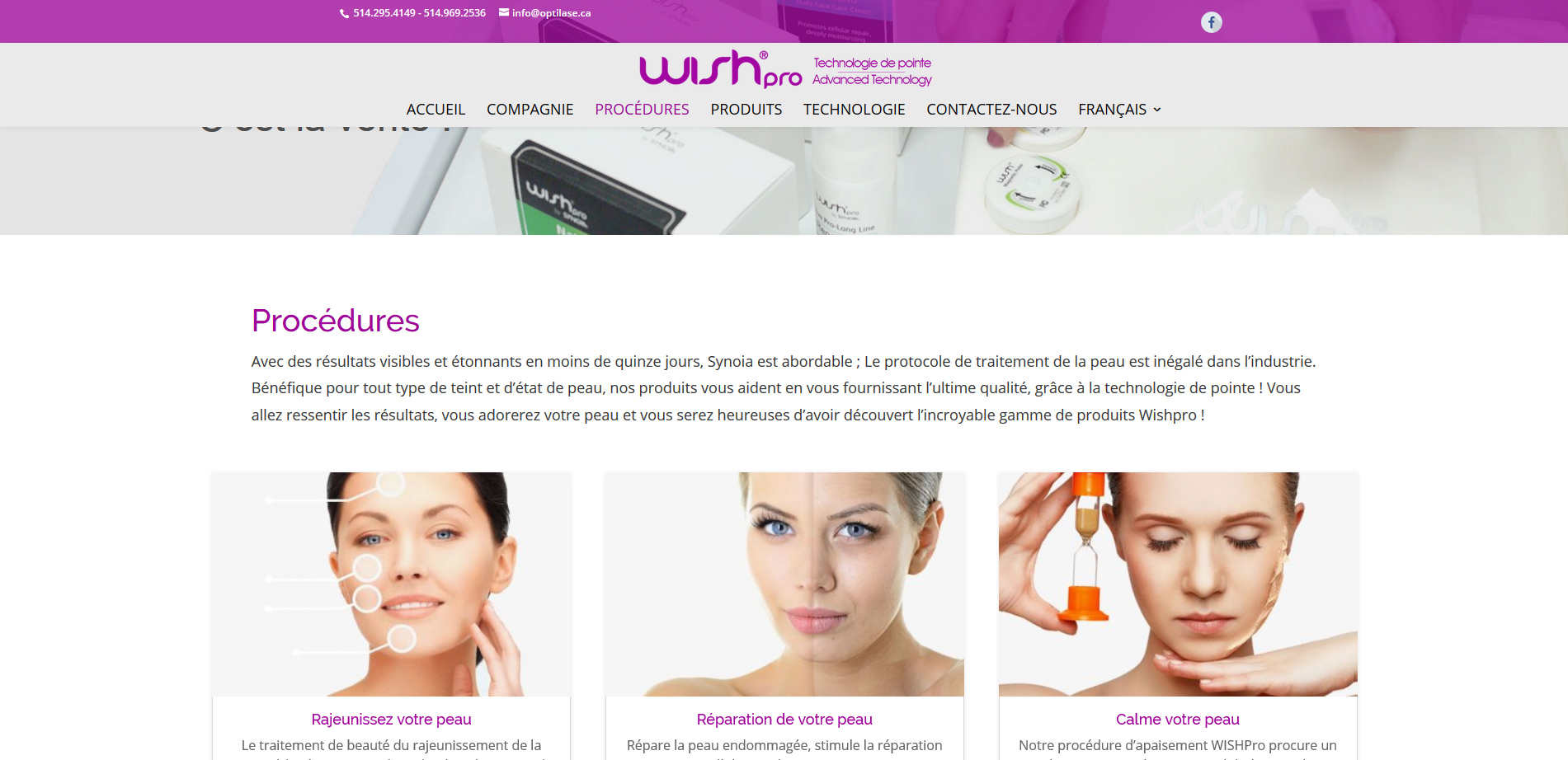 Wishpro - Technologie de pointe
