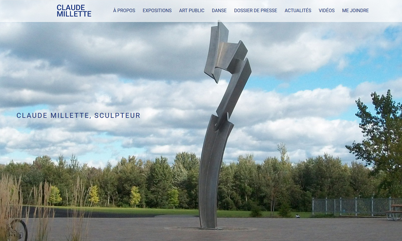 Claude Millette, Sculpteur